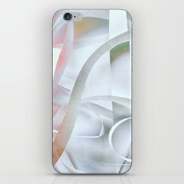 Paper colored pattern iPhone Skin