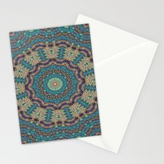 Jade & Gold Mandala Stationery Cards