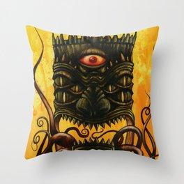 LovecrafTiki Throw Pillow