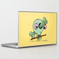 teacher Laptop & iPad Skins featuring Bad Teacher by mailboxdisco
