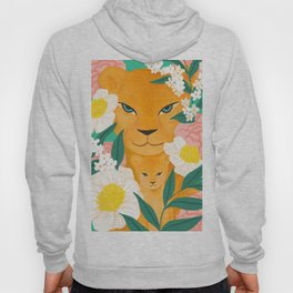 Mother Lion and Cub I Hoody