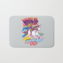 Warrior of the '80s Bath Mat
