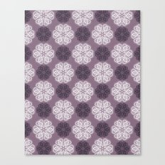 PAISLEYSCOPE posh (purple) Canvas Print