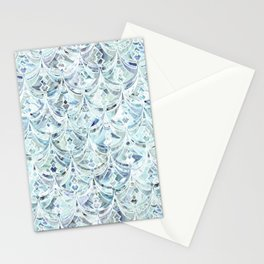 Ice and Diamonds Art Deco Pattern Stationery Cards