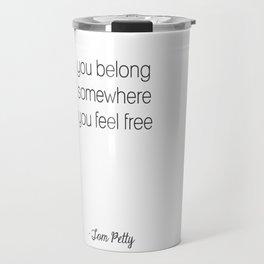 Tom Petty Travel Mug