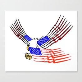 """Hoo Rah"" America Canvas Print"