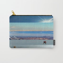 Collage - Into the Blue Carry-All Pouch