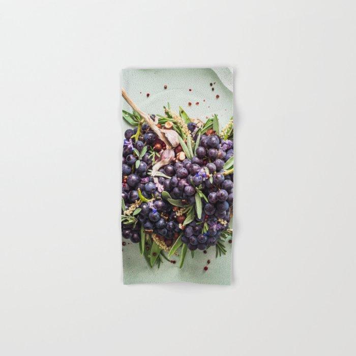 Concord Grapes Hand & Bath Towel