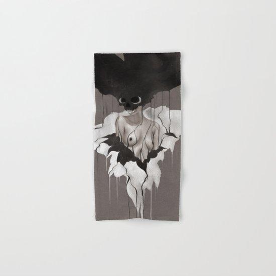 Death By Chocolate Monochrome Hand & Bath Towel