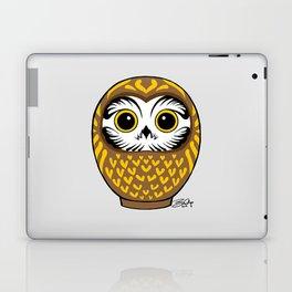 Brown Fukuro Daruma Laptop & iPad Skin