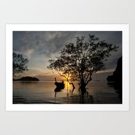 Floating Tree - Thailand 2007 - ( 10 print limited edition) Art Print