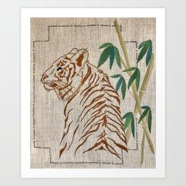Bengal Art Print