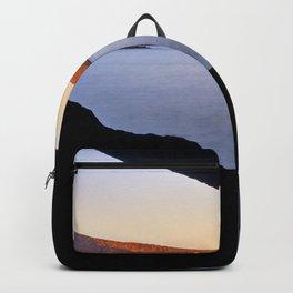 Del Medio Cave. Sunset at the beach. La Gomera Backpack