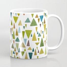 Watercolor triangle fantasy in nature colors Coffee Mug