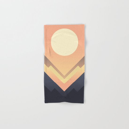The Sun Rises Hand & Bath Towel