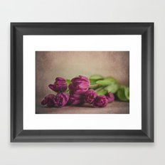 Pretty Purple Framed Art Print