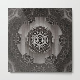 Cog Of The Machine Metal Print