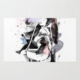 Shibari - Japanese BDSM Art Painting #12 Rug