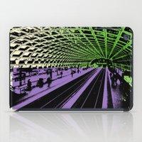 washington dc iPad Cases featuring Washington DC Metro by Amy Smith - ColorScape