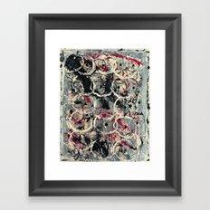 Bubble Pods Framed Art Print