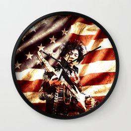 Hendrix Freedom Wall Clock