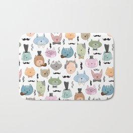 Aristocats Seamless Pattern Bath Mat