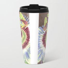 Passion Flower Travel Mug