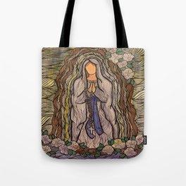 Lady of Lourdes Tote Bag
