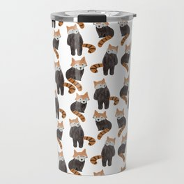 Cute red panda Pattern Travel Mug