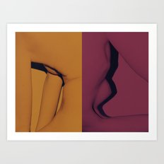 Kropp Art Print
