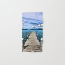 Stepping to the Sea Hand & Bath Towel