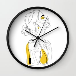 Color Beauty Wall Clock