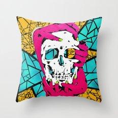 Death Grip #1 Throw Pillow