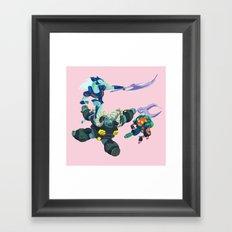 Battle Beasts - Trio 1 Framed Art Print