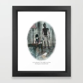 Behind You 37 Framed Art Print