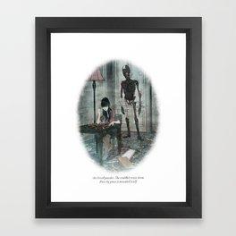 Behind You 37 Framed Art Print