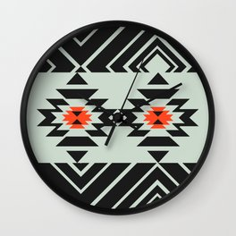 Geometric pair Wall Clock