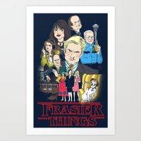Frasier Things Art Print
