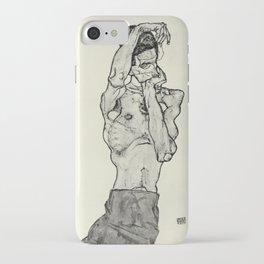 Egon Schiele  -  Zeichnungen II iPhone Case
