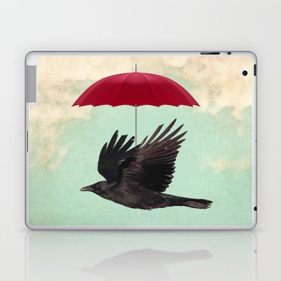 Raven Cover Laptop & iPad Skin