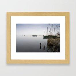 The silence of the Lake Framed Art Print