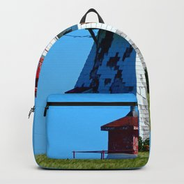 Lighthouse in Disrepair Backpack