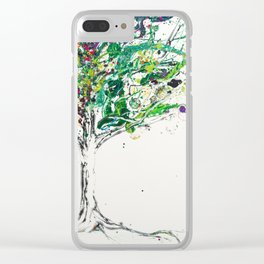 The tree of Secrets Clear iPhone Case