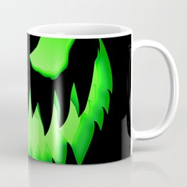 Evil Green ghost Coffee Mug
