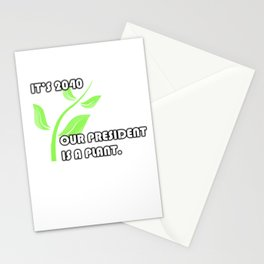 PLANT 4 PREZ Stationery Cards