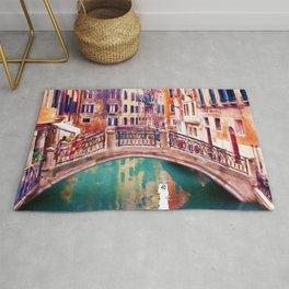 Small Bridge in Venice Rug
