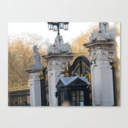 Buckingham Gates Canvas Print