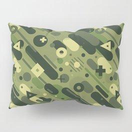 Geometric Camo Pillow Sham