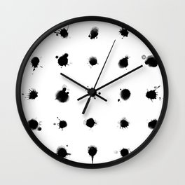 Polkadots Wall Clock