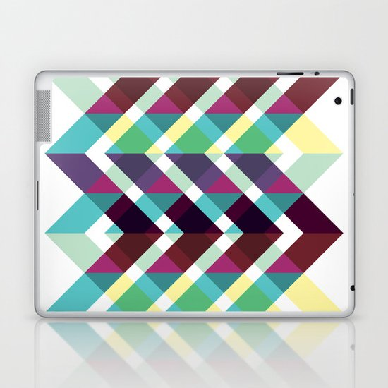 Geometric Pattern #4 (Zig Zag) Laptop & iPad Skin